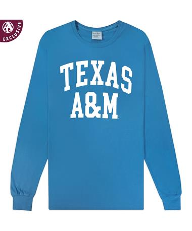 Texas A&M Basic Arch Long Sleeve T-Shirt