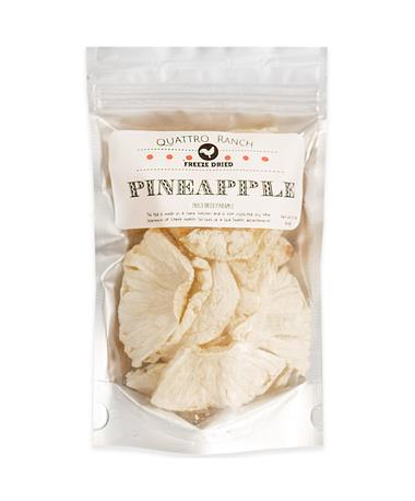 Quattro Ranch Freeze Dried Pineapple