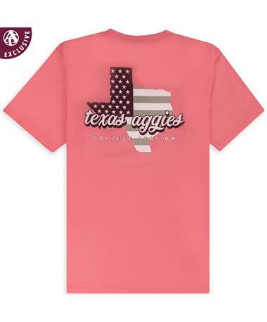 Texas A&M Aggies Basic State T-Shirt