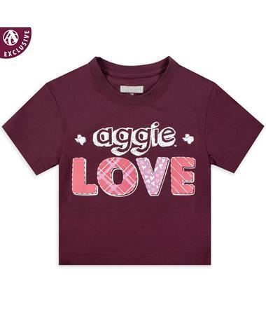 Aggie Love Texas Youth T-Shirt