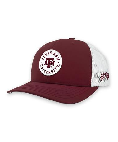 Texas A&M Youth Circle Patch Cap