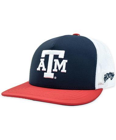 Texas A&M Hooey Red White & Blue Cap