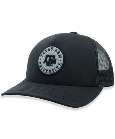 Texas A&M Hooey Circle Patch Black Cap