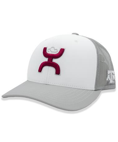 Texas A&M Maroon Hooey Logo Cap