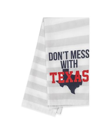 Don't Mess with Texas Tea Towel