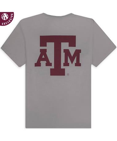 Texas A&M Aggie Basic Block Comfort Wash T-Shirt