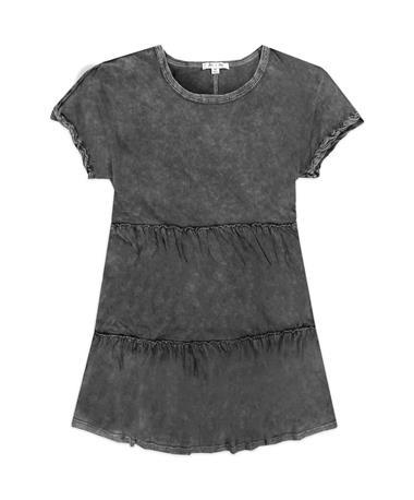 Drop Tiered Tunic Dress