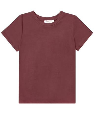 Maroon Short Sleeve Top