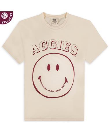 Texas A&M Aggie Smiley Face T-Shirt