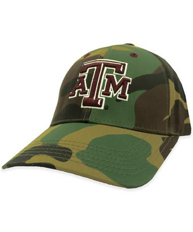 Texas A&M Traditional Camo Adjustable Hat