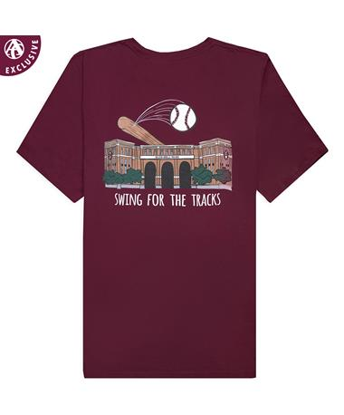 Texas A&M Swing For The Tracks T-Shirt