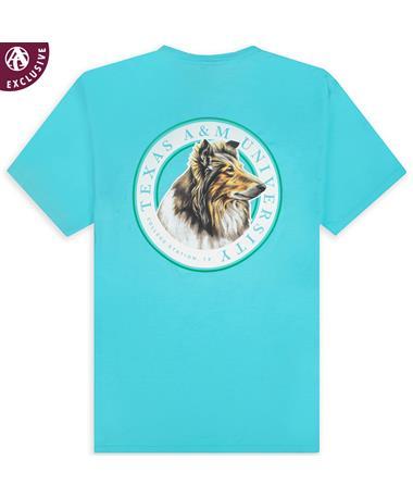 Texas A&M Circle Reveille T-Shirt