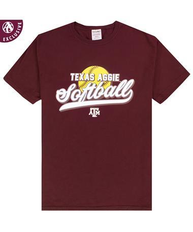 Texas A&M Aggie Softball T-Shirt