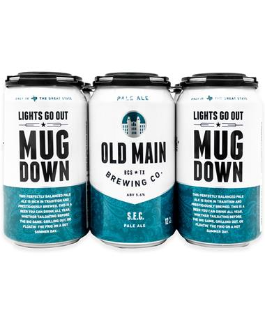 IN STORE PICKUP OR LOCAL DELIVERY ONLY: Old Main Brewing Co. S.E.C. Pale Ale 6-Pack Beer