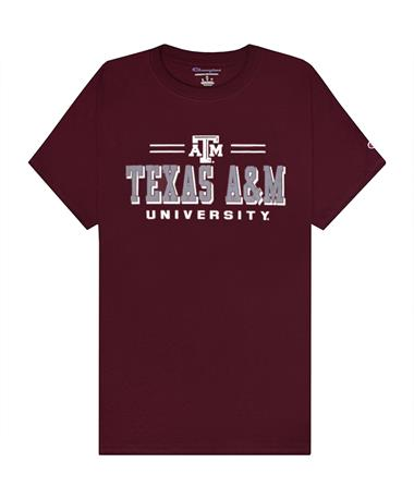 Texas A&M Champion Athletic Short Sleeve T-Shirt
