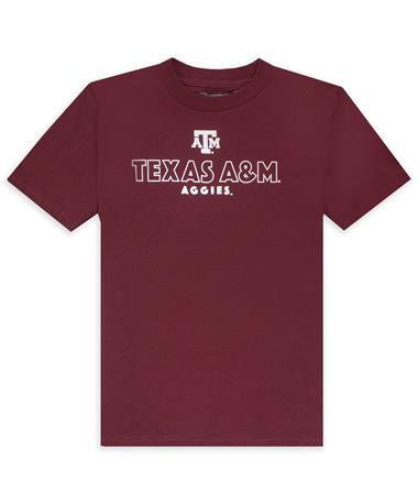 Texas A&M Aggies Champion Jersey Youth T-Shirt