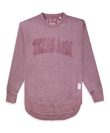 Texas A&M Ponchoville Maroon Pullover Fleece