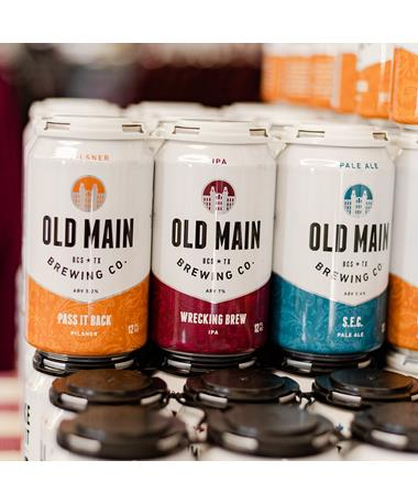 IN STORE PICKUP OR LOCAL DELIVERY ONLY: Old Main Brewing Co. Combo Pack 6-Pack Beer