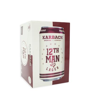 IN STORE PICKUP OR LOCAL DELIVERY ONLY: Karbach 12th Man Lager 6-Pack