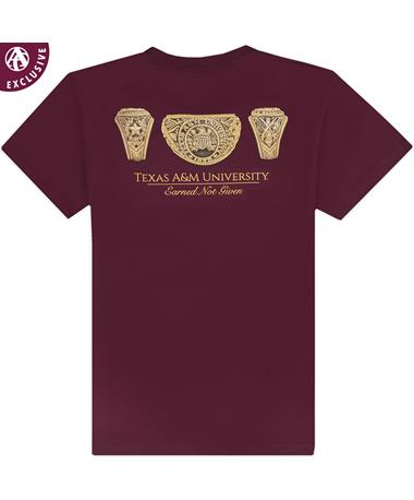 Texas A&M Earned Not Given T-Shirt