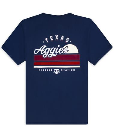Texas A&M Texas Ags Sunset Comfort Wash T-Shirt