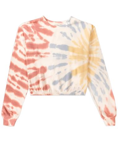 Z -Supply Britton Tie Dye Cropped Pullover