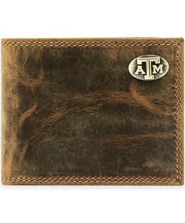 Texas A&M Bifold Conch Wallet