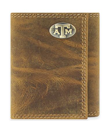 Texas A&M Trifold Conch Wallet