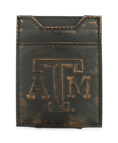 Texas A&M Front Pocket Conch Wallet