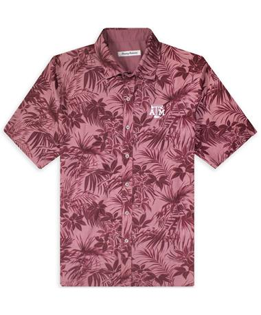Texas A&M Tommy Bahama Sport Printed Reign Forest Fronds