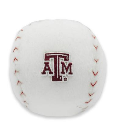 Texas A&M Plush Patch Baseball