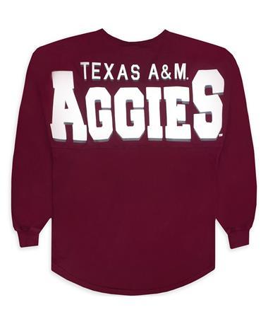 Texas A&M V-Neck Spirit Jersey