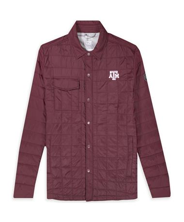 Texas A&M Cutter & Buck Maroon Rain Jacket