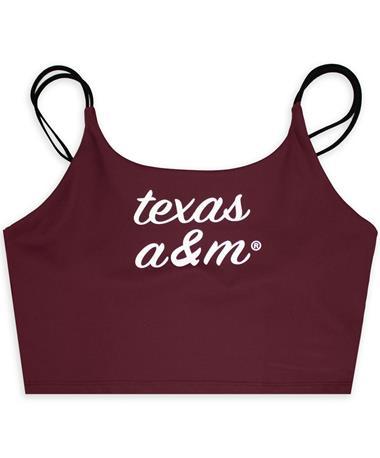 Texas A&M Maroon Cami Bra