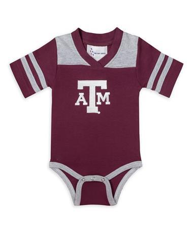 Texas A&M Infant Football Creeper