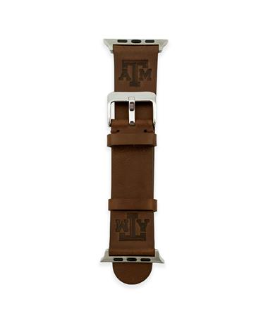 Texas A&M Leather Apple Watch Band