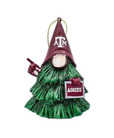Texas A&M Gnome Tree Character Ornament