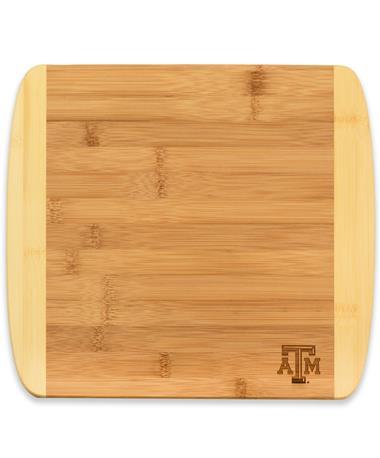Texas A&M 13inch 2-tone Cutting/Serving Board