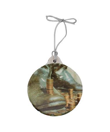 Sully Circle Stone Ornament