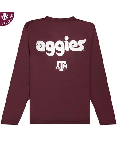 Texas A&M Aggies Philly Script Long Sleeve