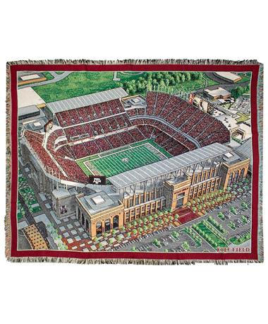 Texas A&M Pure Country Kyle Field Woven Blanket