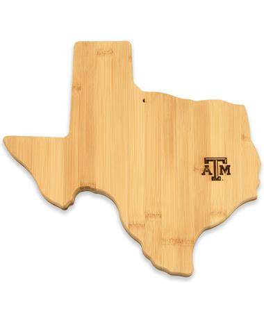 Texas A&M Texas Bamboo Cutting/Serving  Board