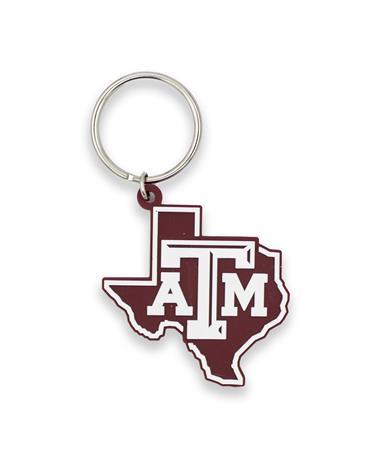 Texas A&M Lone Star Softie Keychain