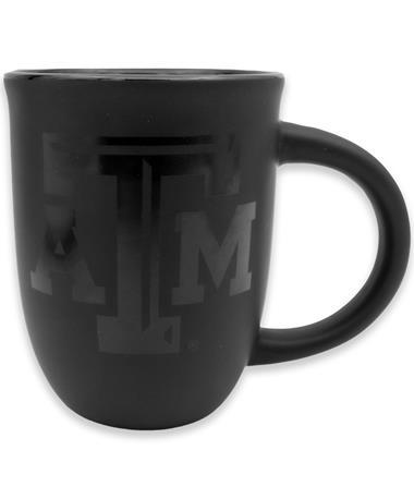Texas A&M Black on Black Mug