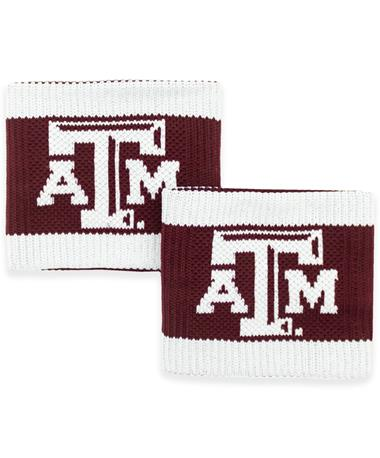 Texas A&M Beveled ATM Wristbands