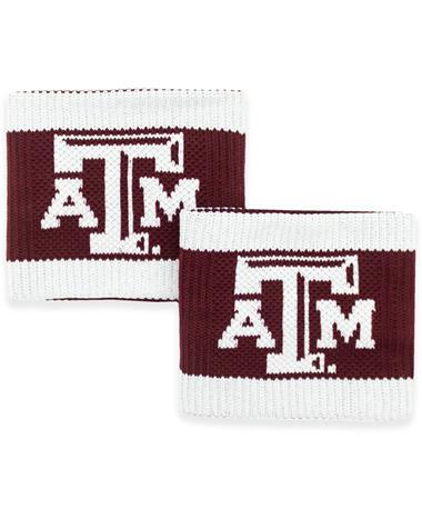 Texas A&M Beveled ATM Wristbands