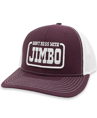 Maroon Richardson Don't Mess with Jimbo Mesh Hat