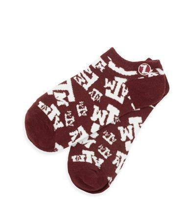 Texas A&M All Over ATM Print Socks