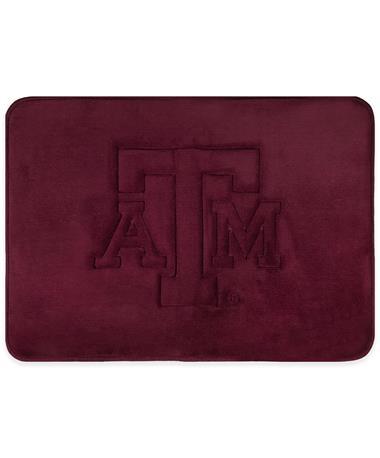 Texas A&M Memory Foam Bath Mat