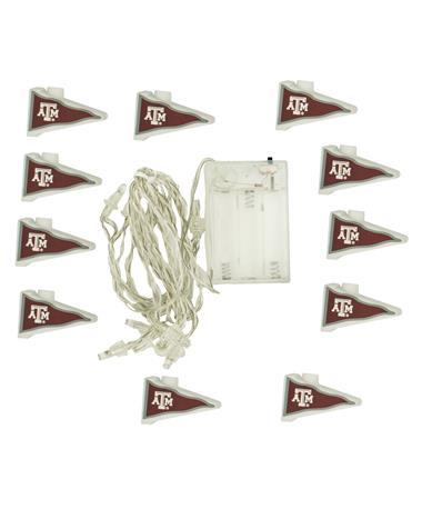 Texas A&M Flag String Lights